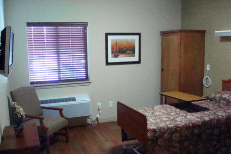 bedrooms Skilled Nursing Home in Pocatello, ID quinn meadows rehabilitation and care center idaho
