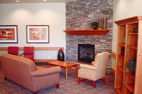lobby Skilled Nursing Home in Pocatello, ID quinn meadows rehabilitation and care center idaho