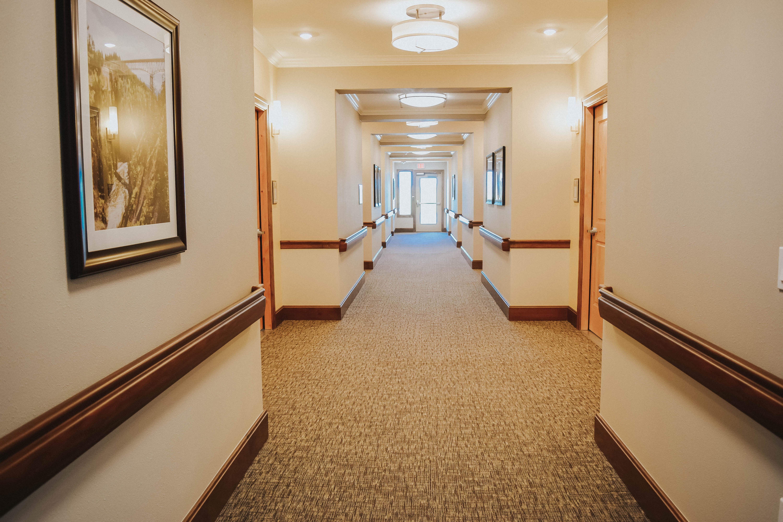 Canyons Retirement Community Twin Falls ID Hallway