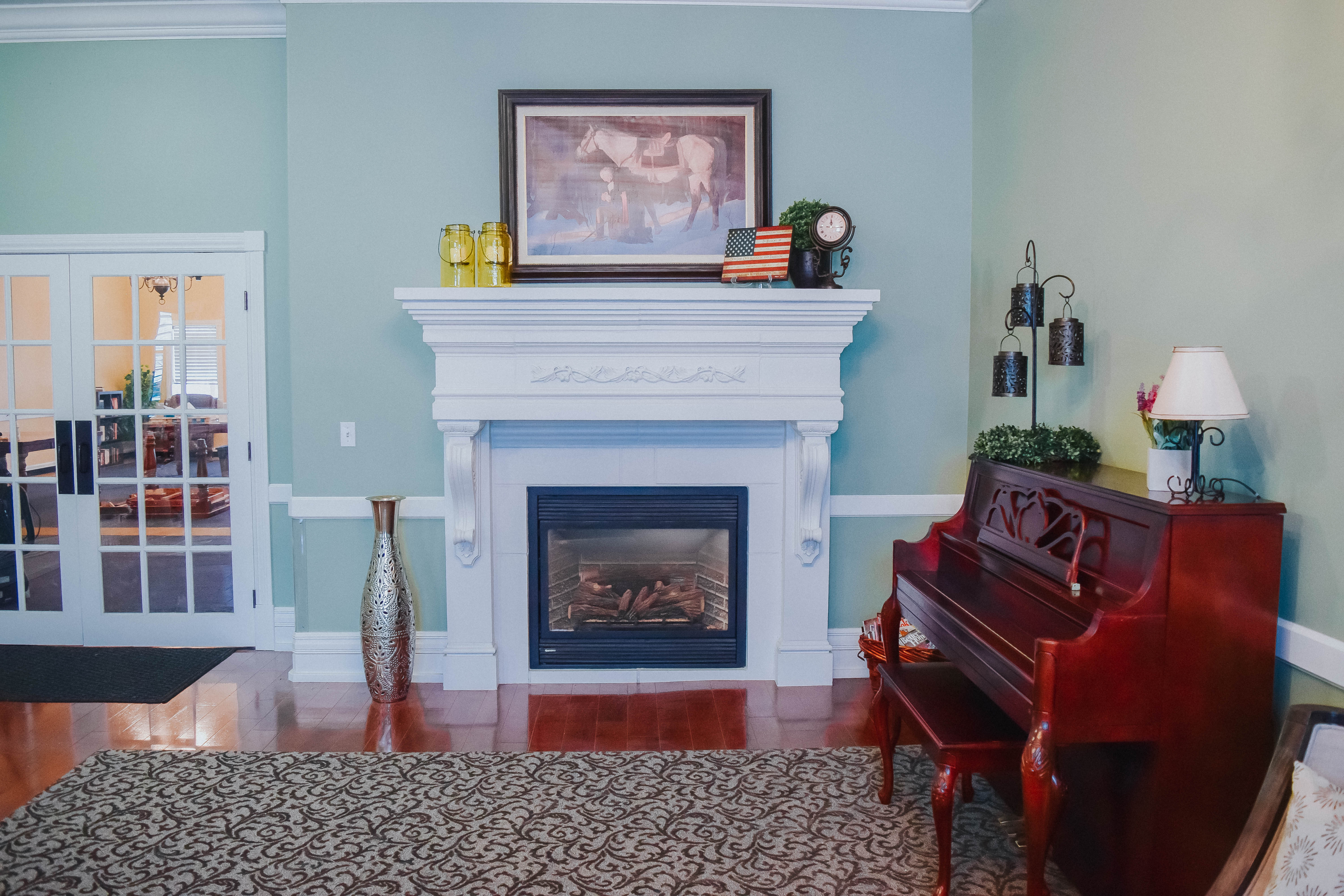 Tambree Meadows Assisted Living Fireplace