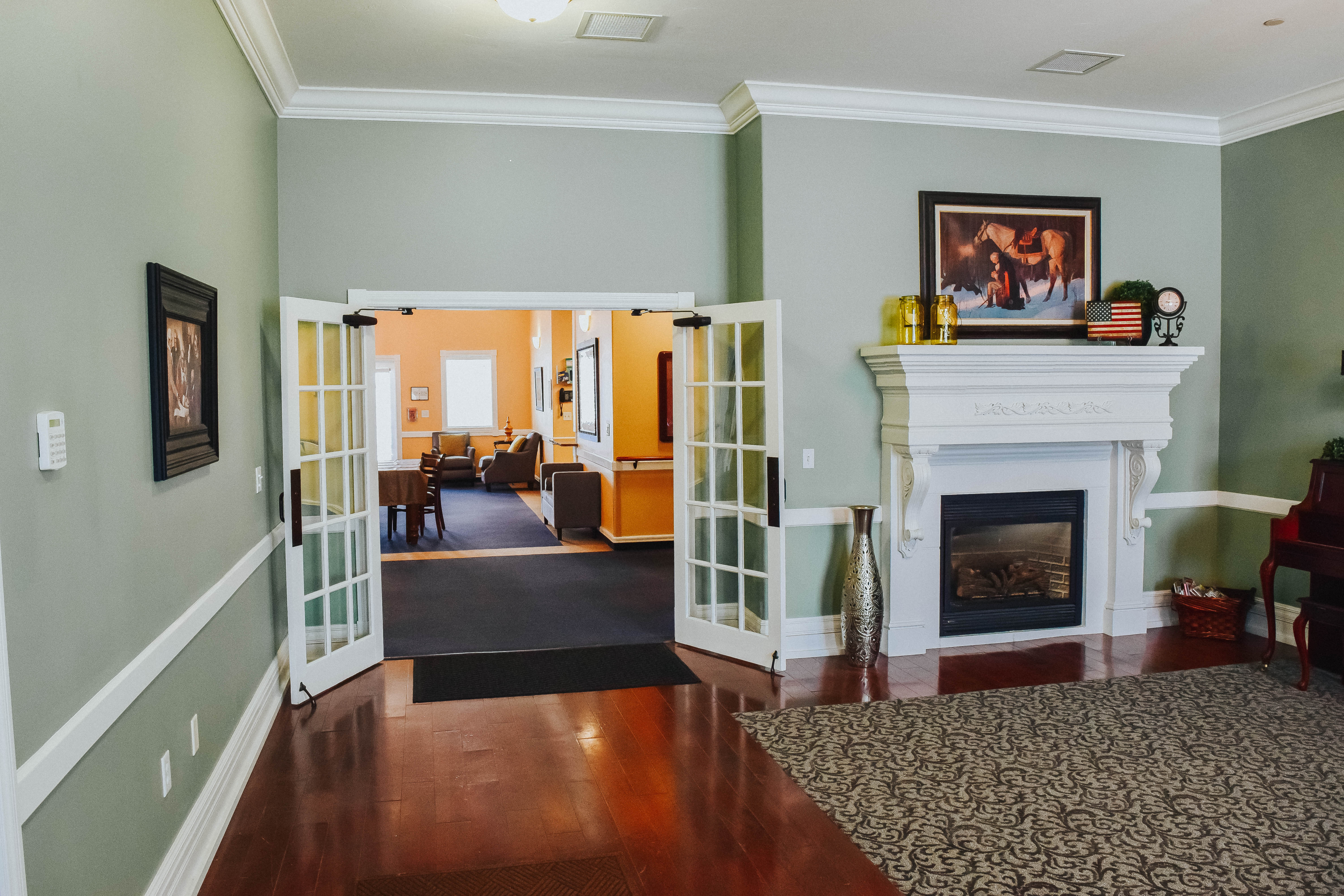 Tambree Meadows Assisted Living Front Room