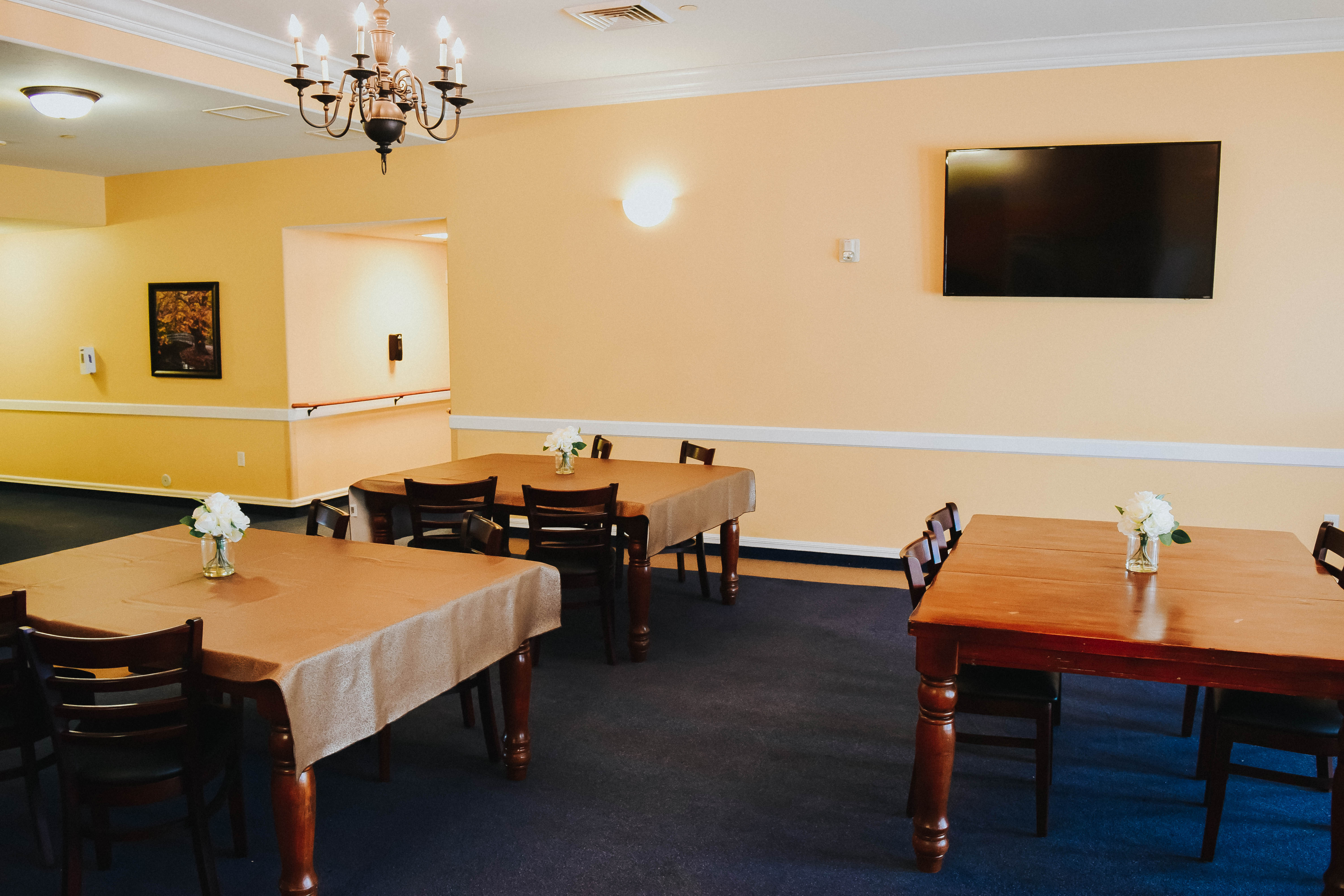Tambree Meadows Assisted Living Dining Area