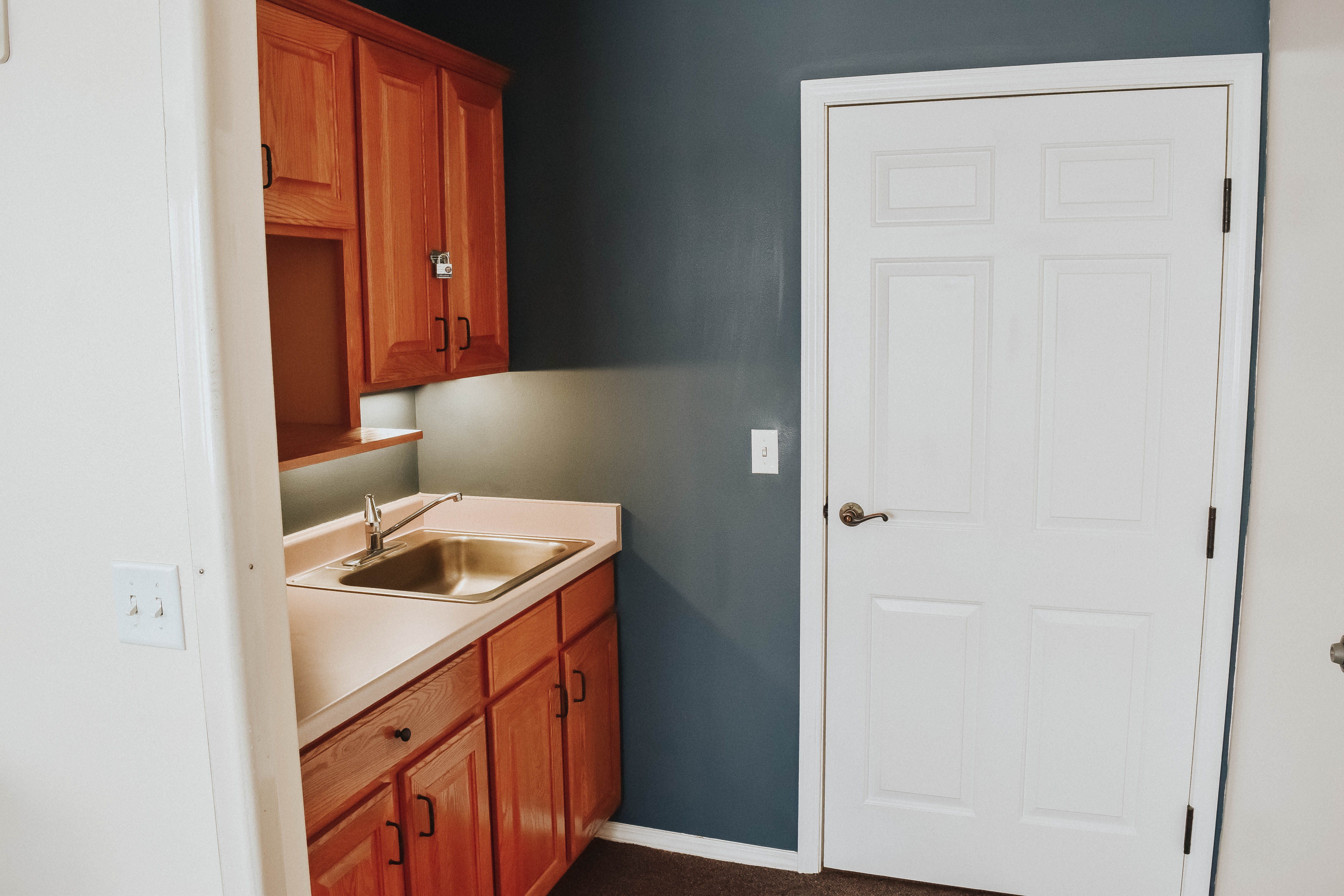 Tambree Meadows Assisted Living Bedroom Kitchenette