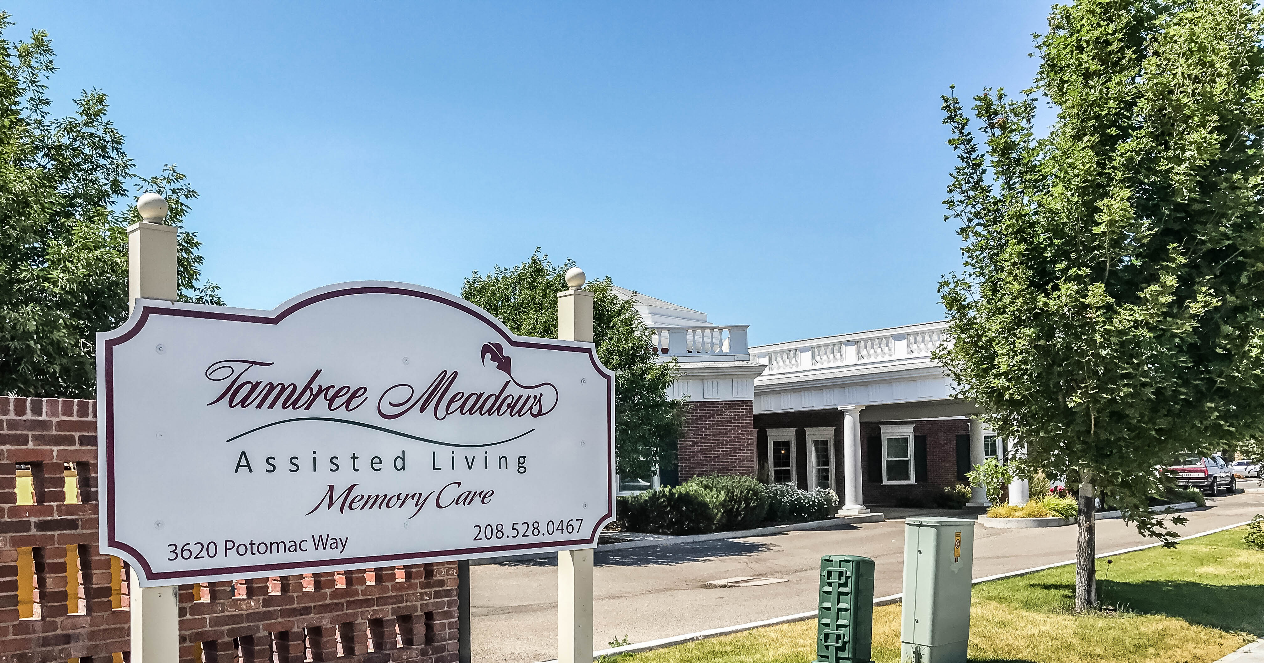 Tambree Meadows Assisted Living and Memory Care Idaho Falls ID Front Builing