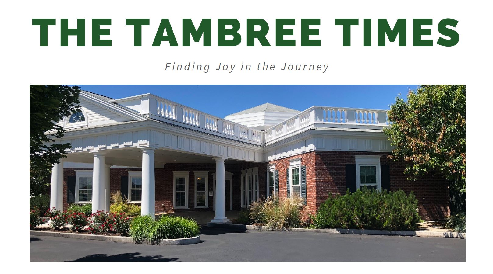 The Tambree Times Assisted living idaho falls idaho memory care idaho falls idaho senior living community idaho falls idaho