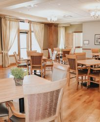 Canyons Retirement Community Twin Falls ID Memory Care Dining Room