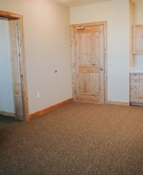 Canyons Retirement Community Twin Falls ID Bedroom with Kitchenette and Living Room