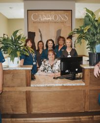 Canyons Retirement Community Twin Falls ID Staff Welcomes You